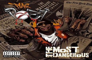 Blaq Poet (of Screwball) - The Most Dangerous (prod. by Venom) & Album Cover