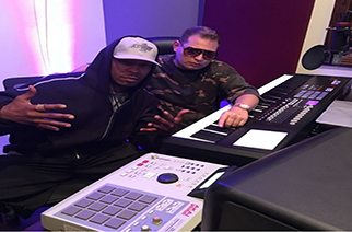 Mel-Man & Scott Storch Spotted In What Looks Like A Studio