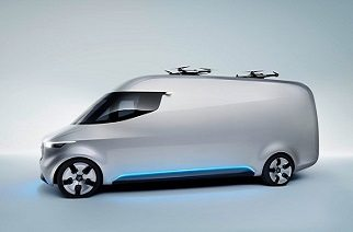 Mercedes-Benz Vans is presenting the van of the future: intelligent, interconnected and electric