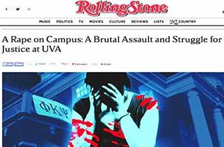Rolling Stone Magazine Faces Shutdown Over Fake Gang-Rape Story; $7.5 Million Defamation Ruling
