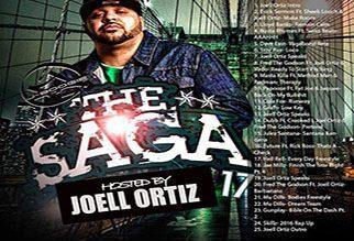 DJ J-Boogie – The Saga 17 Mixtape Hosted by Joell Ortiz