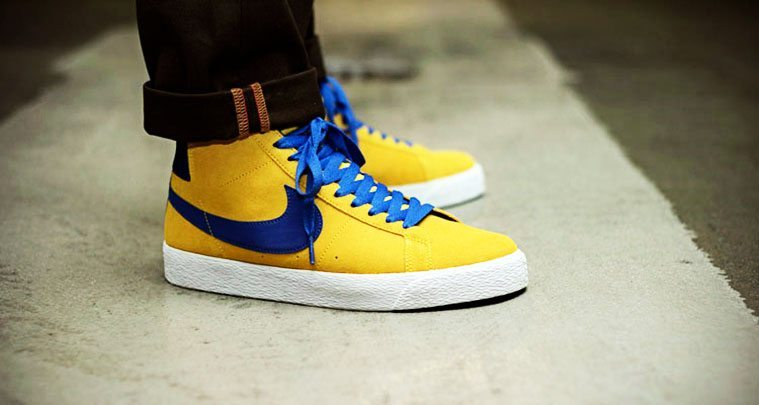 """6d3745661d27a Nike SB Blazer Mid Emerges in """"Tour Yellow"""" Colorway"""