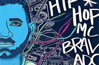 MC Bravado - Reveals 'Hip-Hop*' Album Cover Art & Track Listing