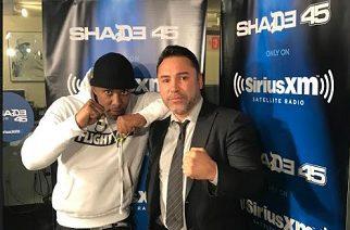 Oscar De La Hoya - Shares Eminem Story, Promoting Fights with 50 Cent & Upcoming Canelo/Chavez Fight