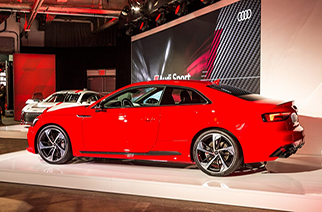 Audi launches Audi Sport brand at 2017 New York Auto Show