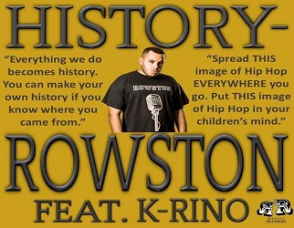 Rowston ft. K-Rino - History (prod. by Sensei Walingh)