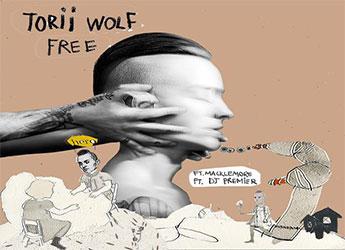 Torii Wolf ft. Macklemore & DJ Premier - Free