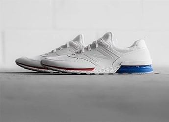 New Balance MS574SCN White-Royal-Red
