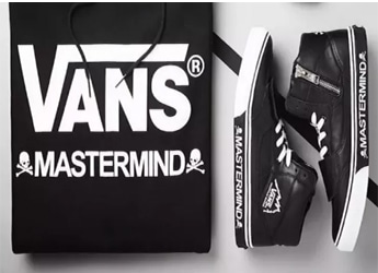 mastermind JAPAN x Vans Mountain Edition - Release Date