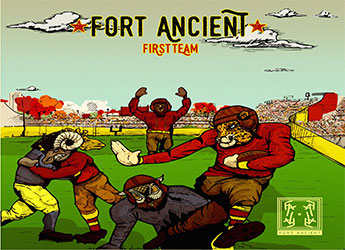 Fort Ancient Records - First Team (LP)