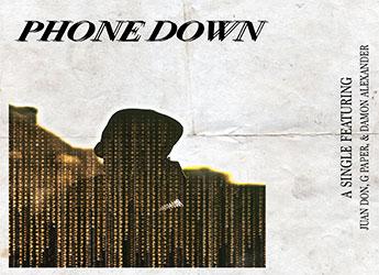 Juan Don ft. G-Paper & Damon Alexander - Phone Down ft. (prod. by VESTIGE)