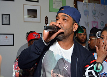 Jim Jones - Photo Recap of His 'Wasted Talent' Private Listening Experience