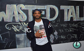 Jim Jones - Takes Us to Harlem for 'Wasted Talent' Private Listening Experience