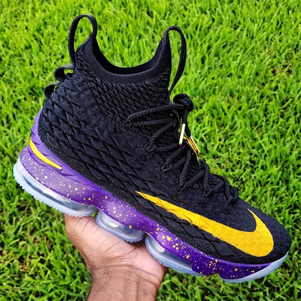 ed52fe80310 LABron  Inspires Custom Nike LeBron 15