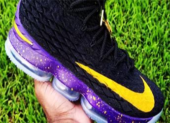 aaedef87d3b  LABron  Inspires Custom Nike LeBron 15