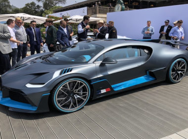 Bugatti Divo World Premiere at The Quail A Motorsports Gathering 2018