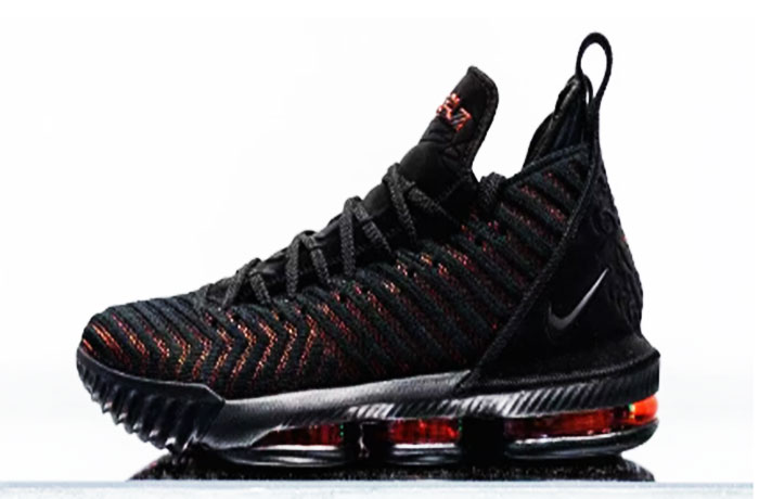 "c1dd4fe19127 A Closer Look at the Nike LeBron 16 ""Fresh Bred"""