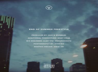 Derin Falana - End Of Summer Freestyle