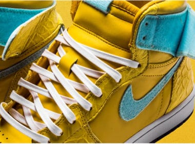 The Shoe Surgeon - Canary Diamond Air Jordan 1