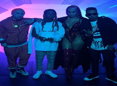 Kid Ink 'YUSO' Videoshoot BTS with Lil Wayne & Saweetie