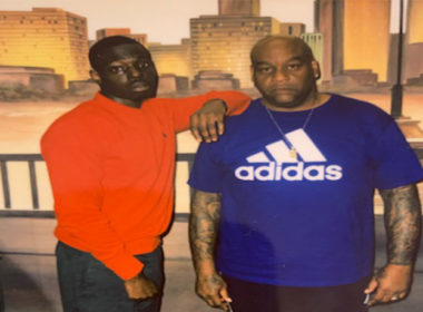 Bobby Shmurda - Poses With Uncle From Jail