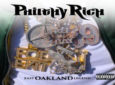 Philthy Rich - East Oakland Legend LP front