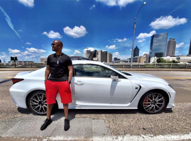 Big Tigger and the 2020 Lexus RC F Atlanta Lifestyle