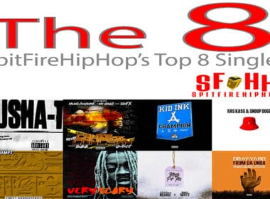 Top 8 Singles: August 25 - August 31 led by Pusha T, Mic Handz & Kid Ink