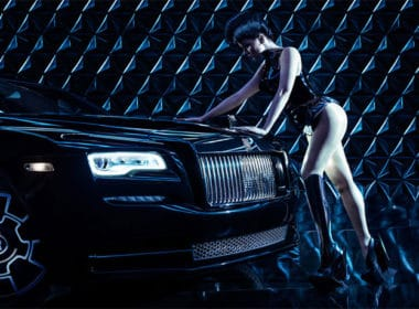 Bionic Performance Artist Viktoria Modesta Humanizes Rolls-Royce Black Badge