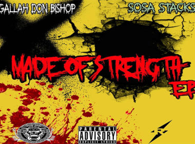 Agallah Don Bishop - Made Of Strength (EP) Front
