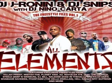 DJ J-Ronin with DJ Snips & DJ Nino Carta - Freestyle Files Vol.1 (Mixtape)
