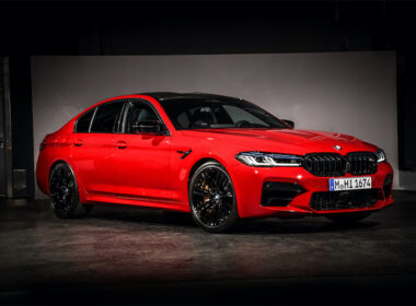 The New 2021 BMW M5 Sedan