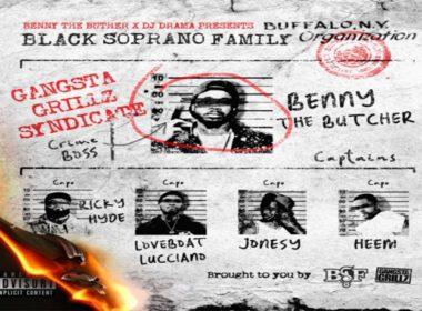 Benny The Butcher & BSF - Gangsta Grillz & BSF Da Respected Sopranos