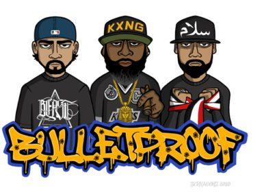 KXNG Crooked, Beast 1333 & Sullee J - Bulletproof