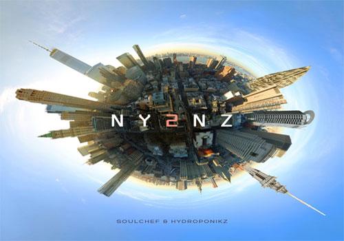 SoulChef & Hydroponikz - NY2NZ (LP)