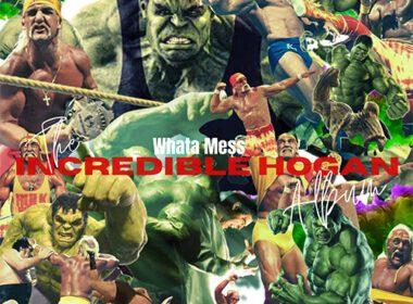 Whata Mess - The Incredible Hogan (LP) front