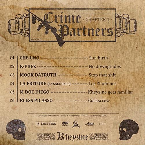 Kheyzine - Crime Partners Chapter I (EP)