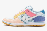 The Shoe Surgeon - Easter Paisley SB Dunk Low
