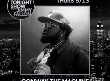 Conway The Machine Appearing On The Tonight Show Starring Jimmy Fallon Tonight 5/13