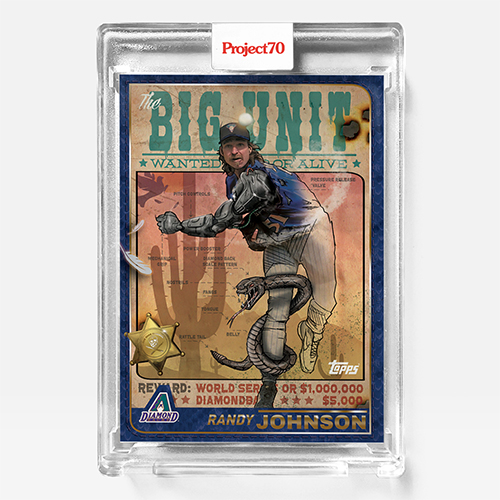 """The Shoe Surgeon & Topps Connect For """"The Big Unit (2001 Randy Johnson)"""""""