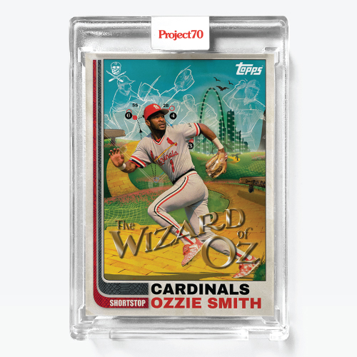 """The Shoe Surgeon & Topps Connect For """"Ozzie Smith"""" Card Release"""