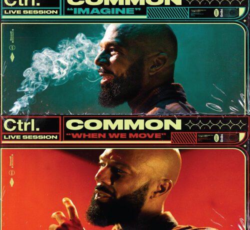 Common performs 'Imagine' & 'When We Move' for Vevo Ctrl